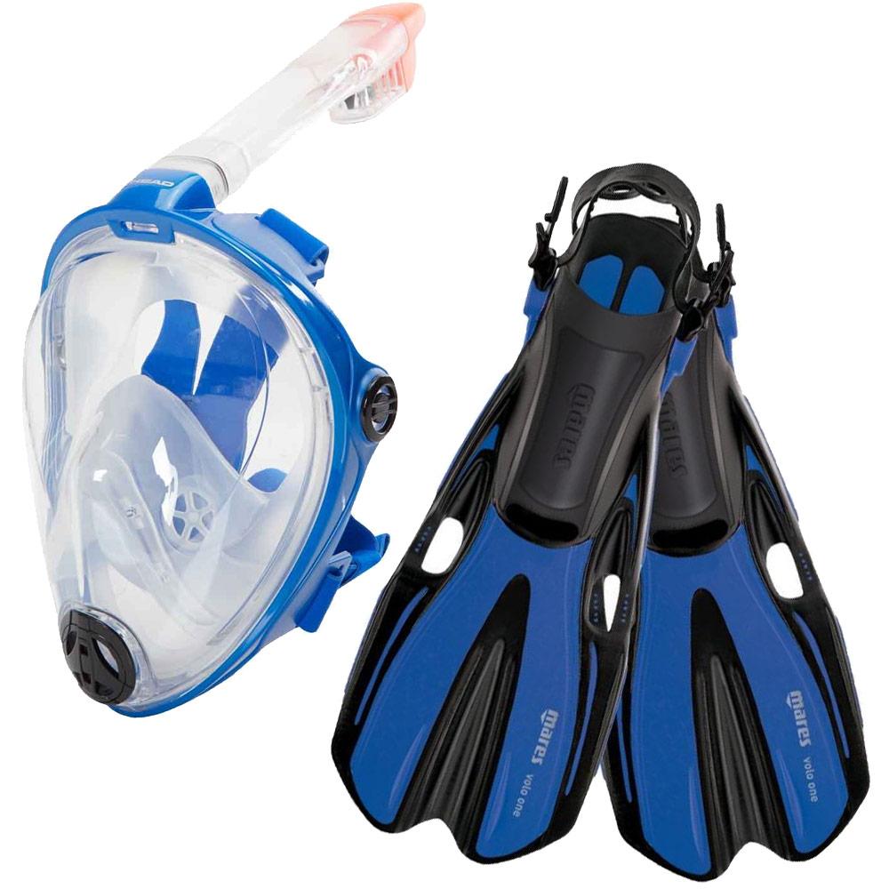 HEAD Mares Volo One Adjustable Snorkeling Fins