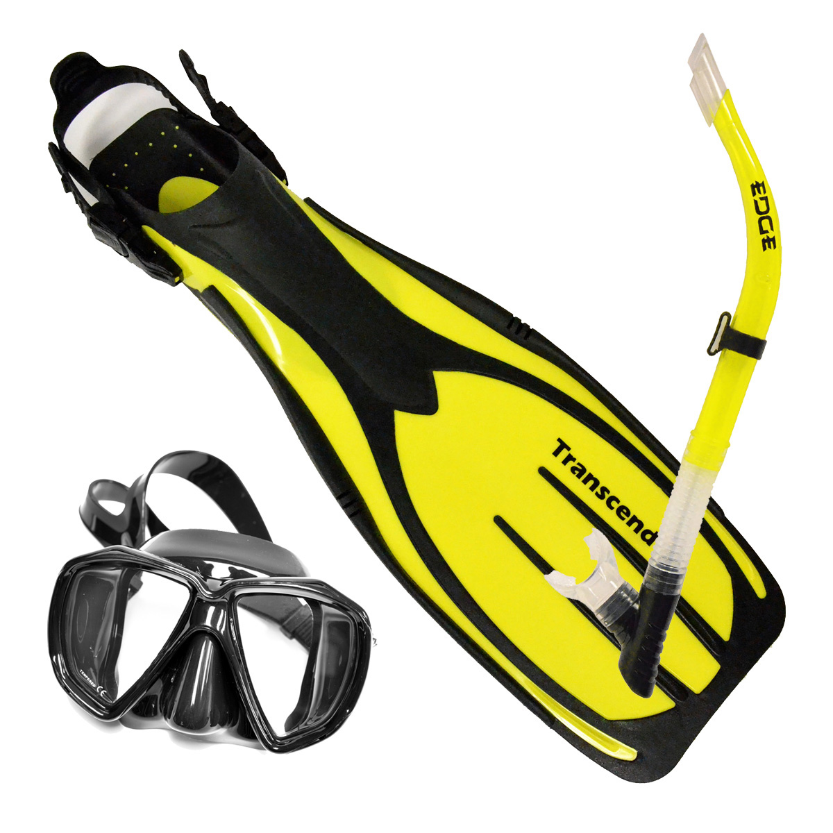 Mask Fin and Snorkel Package
