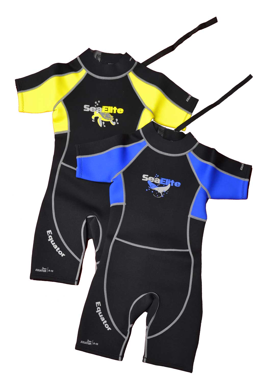 Odyssey Core 3//2mm Kids Shortie Shorty Wetsuit Boys Girls 3mm Swim Beach Child