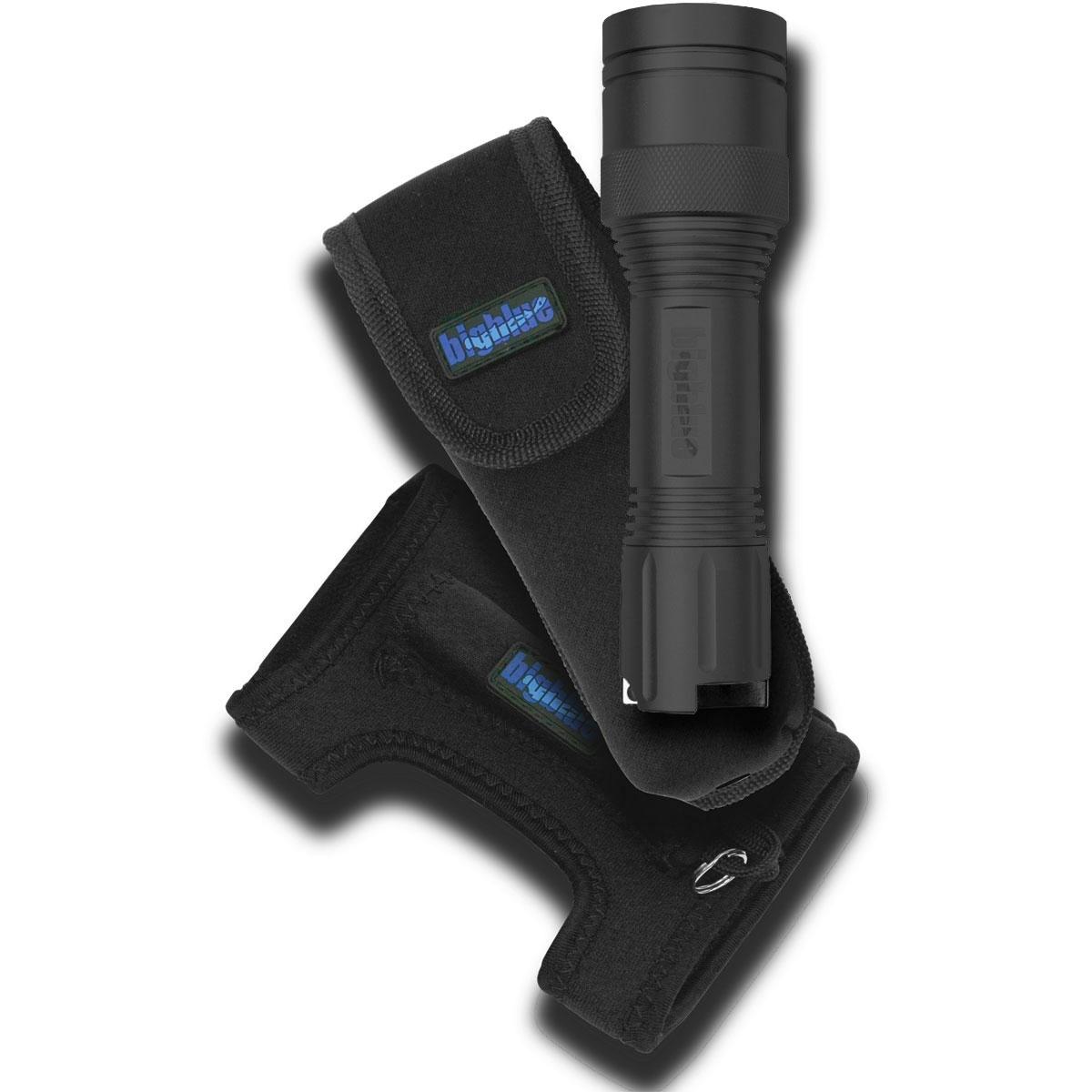 BigBlue CF250 Mini LED Black w Glove and Pouch