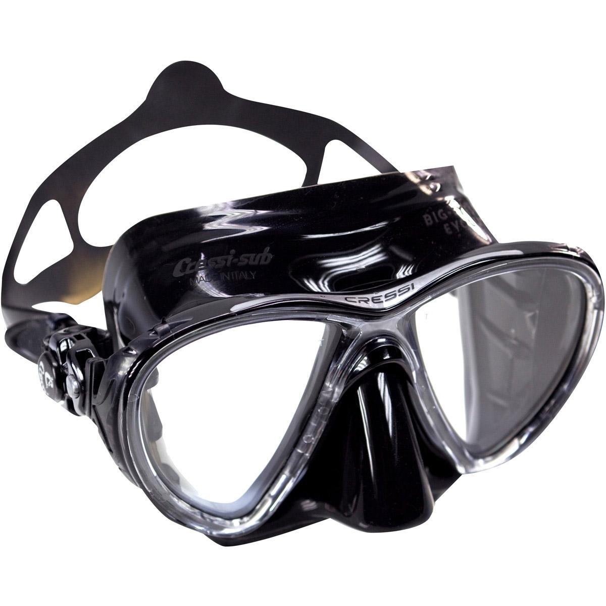 Cressi Eyes Evolution Black Mask Black