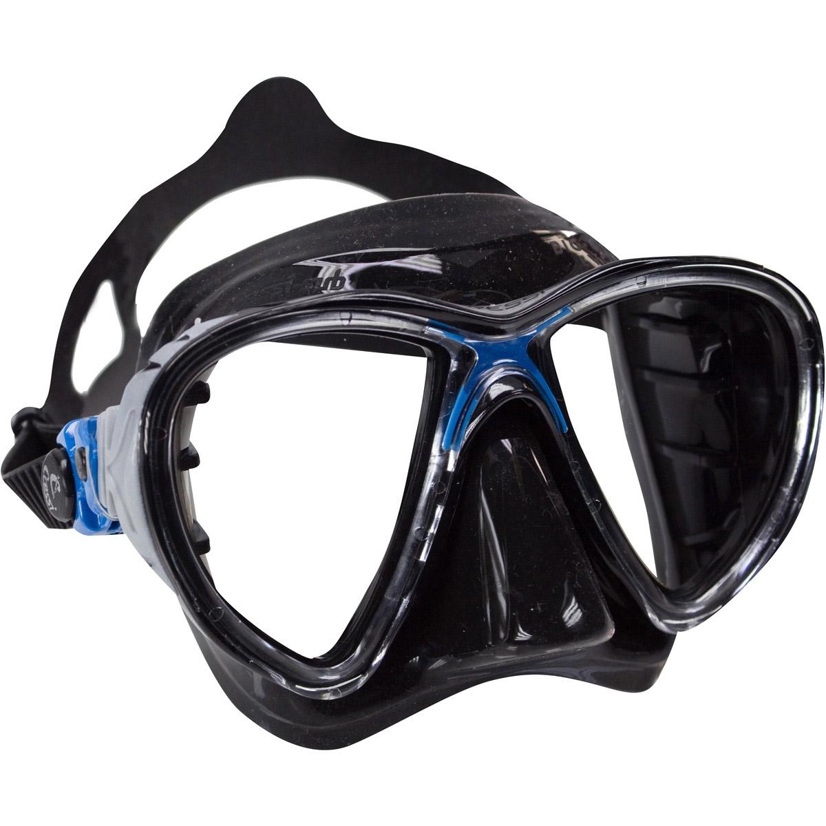 Cressi Eyes Evolution Black Mask Blue