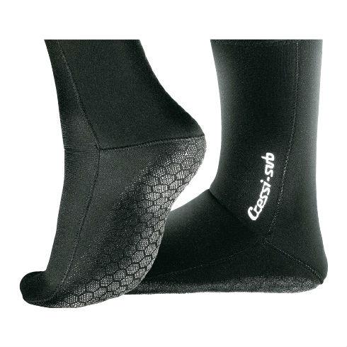 Cressi 2.5mm Anti-Slip Boots Black L