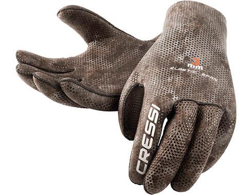 Cressi 3mm Camo Ultra Stretch Gloves Large