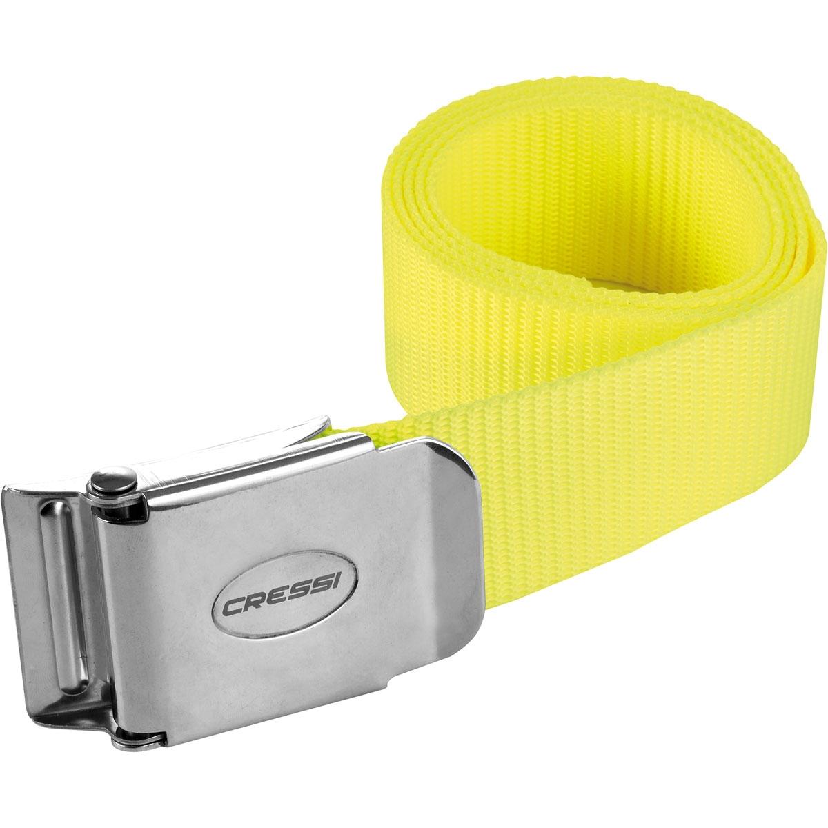 Cressi Weight Belt Neon Yellow