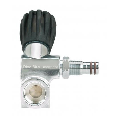 Dive Rite Valve H Adaptor Right Din Only