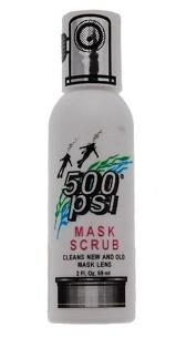 500PSI 2oz Mask Scrub Bottle