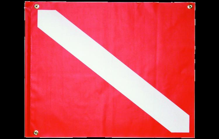 14x16in PVC Dive Flag Stiffener