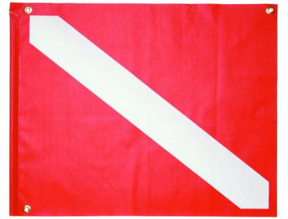 20x24in PVC Dive Flag Stiffener