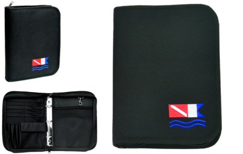 3 Ring Black Binder Dive Flag Insert