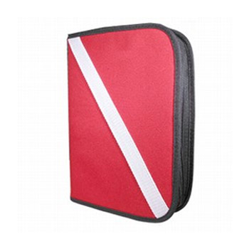 3 Ring Red White Binder