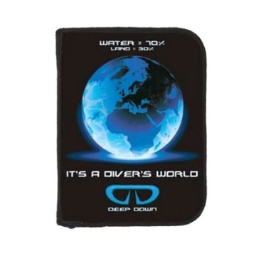 3 Ring Binder Log Book Divers World