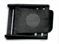 Plastic Delrin Weight Belt Buckle Black