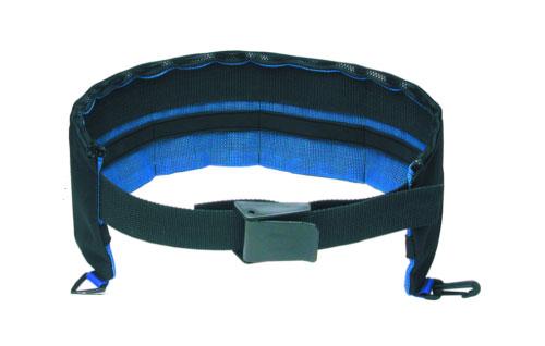 4 Pocket Cordura Weight Belt Black