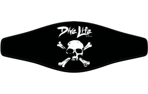 Adj Strap Dunleavy Dive Life Skull