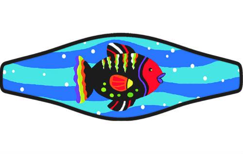 Adj Strap Colorful Fish
