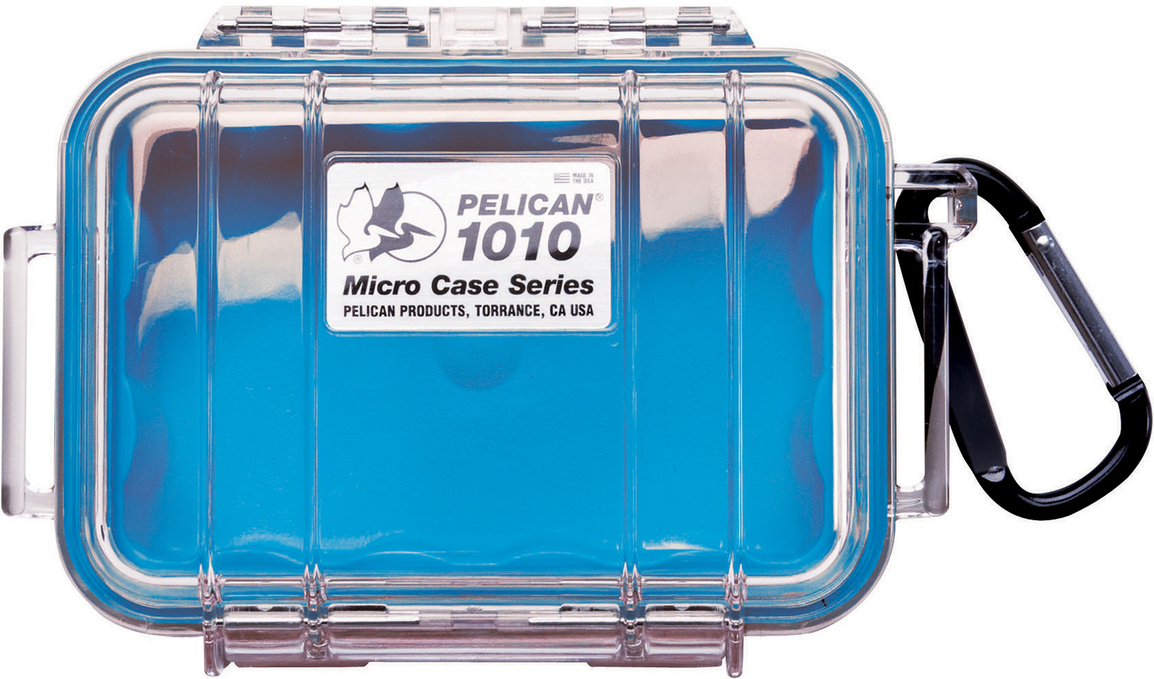 Pelican 1010 Micro Case Blue-Clear