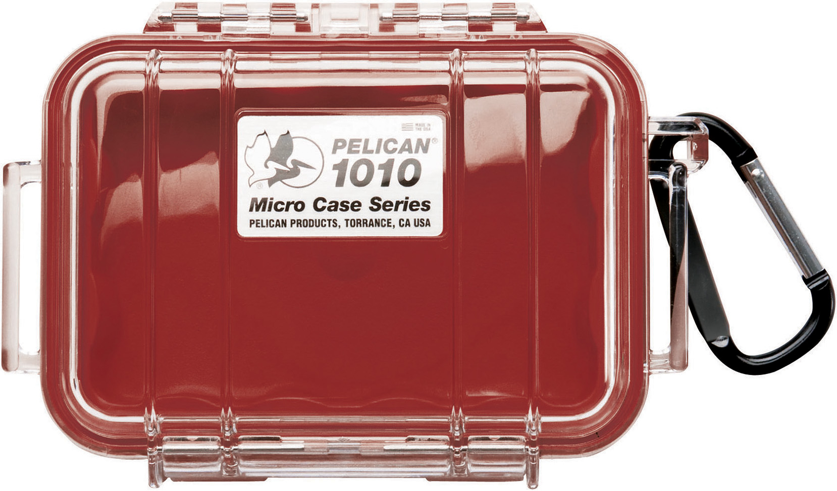 Pelican 1010 Micro Case Red-Clear
