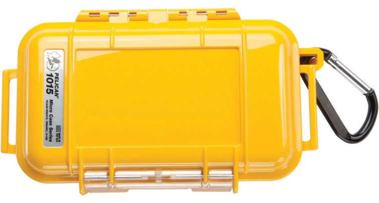 Pelican 1015 Micro Case Yellow