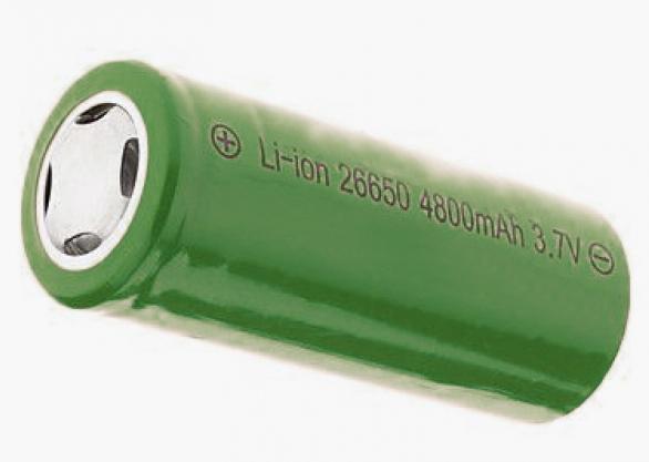 Sea Elite 26650 Li-ion Rechargeable Battery