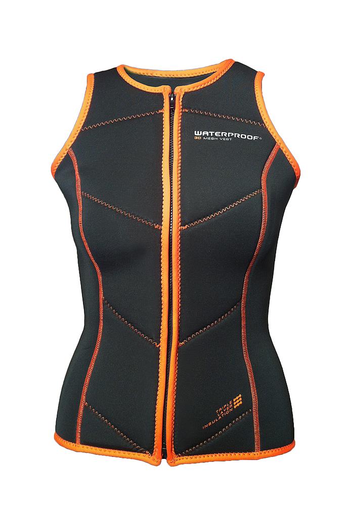 Waterproof Womens 3D Mesh Vest 2XL