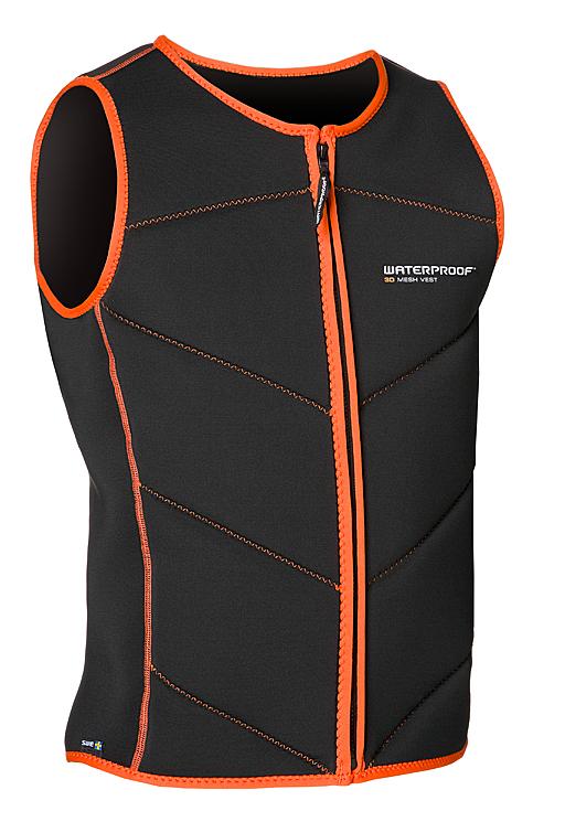 Waterproof Mens 3D Mesh Vest 2XL