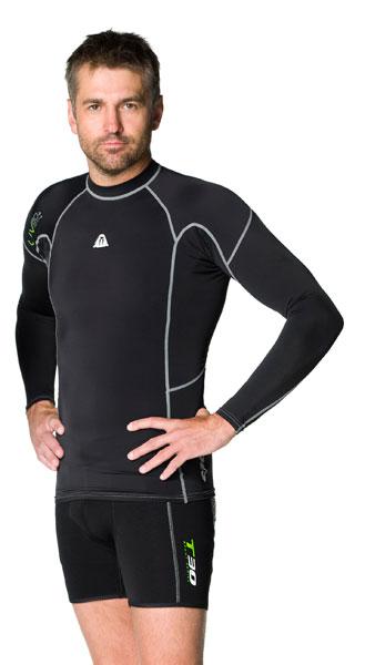 Waterproof Mens LS Rashguard Medium