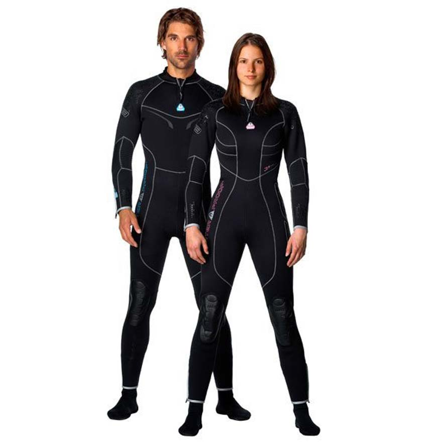 Waterproof 3.5mm Full Wetsuit Mens Large