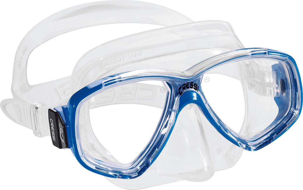 Cressi Perla Mask Clear Blue
