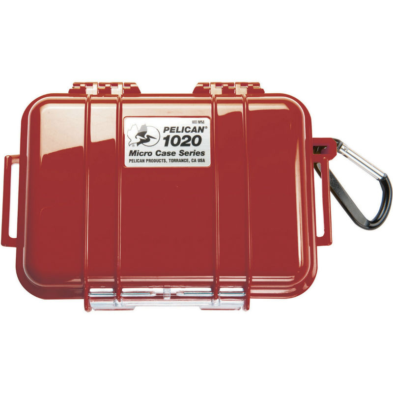 Pelican 1020 Micro Case Red