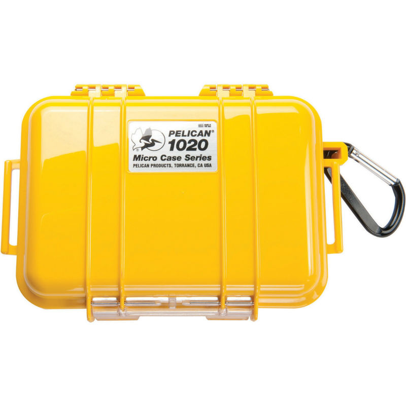 Pelican 1020 Micro Case Yellow