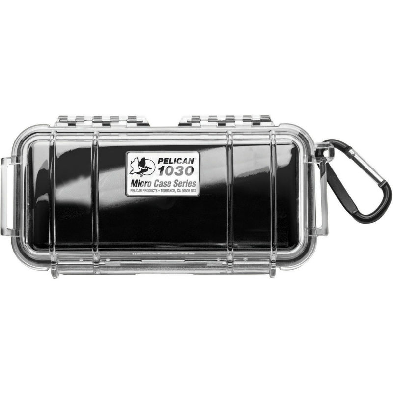 Pelican 1030 Micro Case Black-Clear