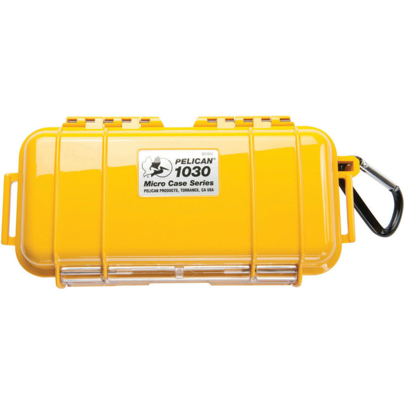 Pelican 1030 Micro Case Yellow