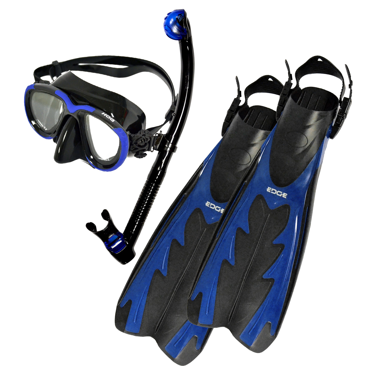 Expedition Mask Fin and Snorkel Package