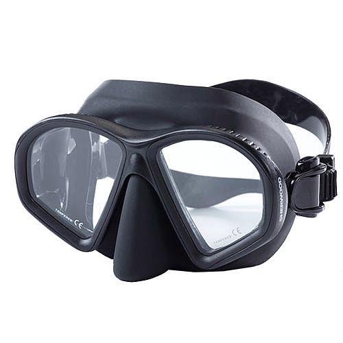 Sherwood Onyx Mask Black Silicone