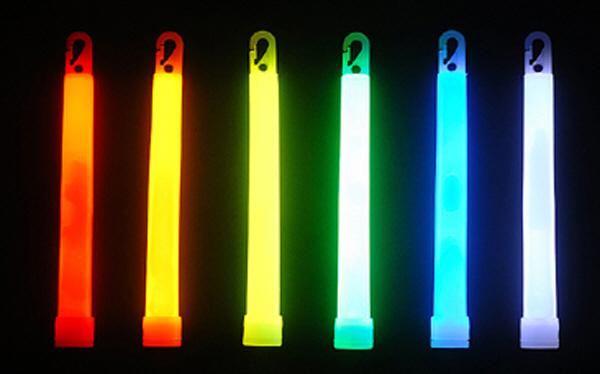 Trident 4in Cyalume Lightstick Green