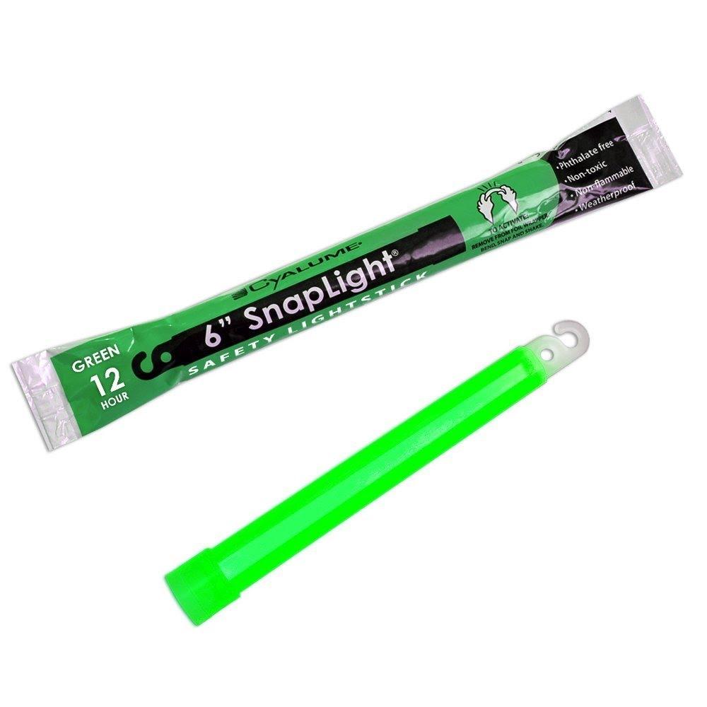 Trident 6in Cyalume Lightstick Green